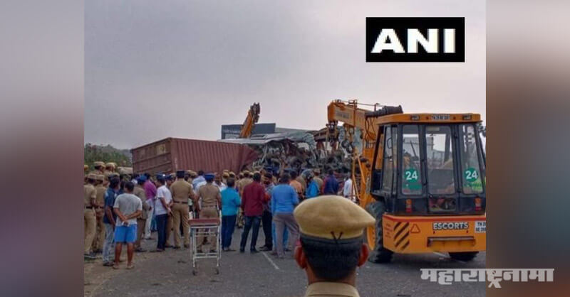 Story Tamil Nadu state Bus and Truck Heavy Accident