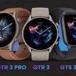 Amazfit Launches GTR 3 Smartwatch Series