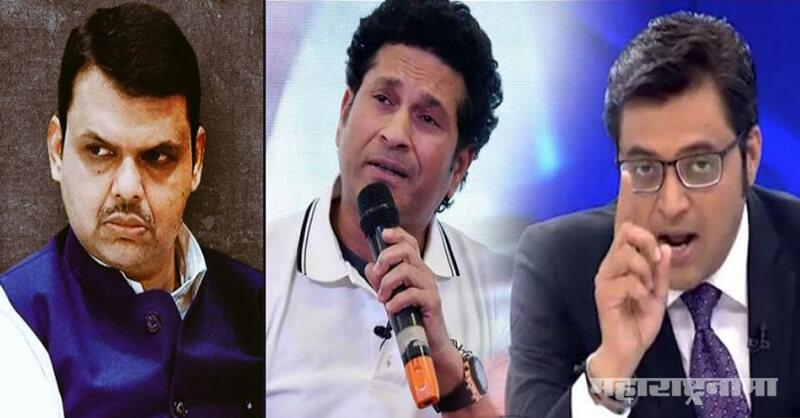 Republic TV Arnab Goswami, Anti National, Sachin Tendukar, ICC Cricket World Cup