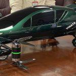 Hybrid flying car model