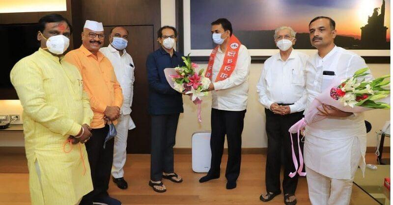 Aurangabad, BJP, former MLA Nitin Patil, joined Shiv Sena