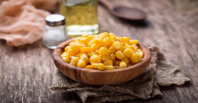 Sweet corn, Calories, health article