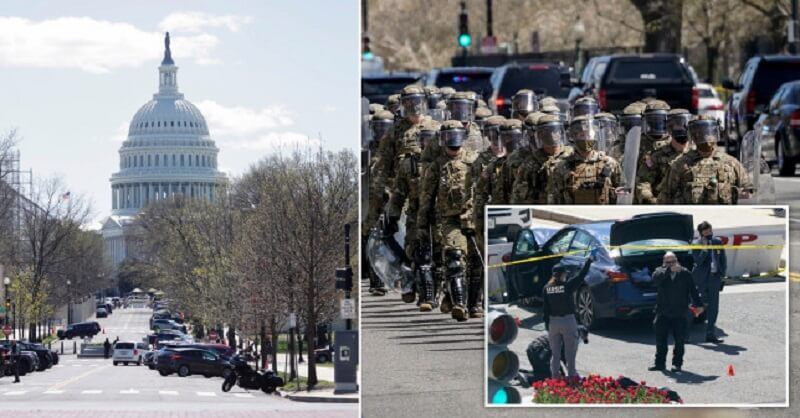 lockdown, Capitol, America, Attacked on police