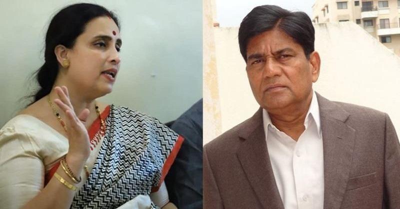 Former IPS, Suresh Khopade, BJP leader Chitra Wagh, Pooja Chavan case