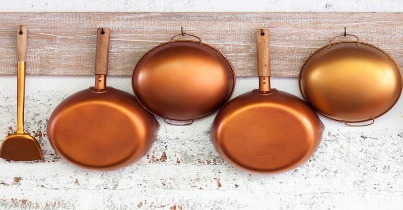 Avoid eating in cooper pots in Marathi