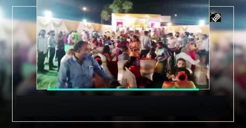 Wedding function, Chembur, Social distancing, Corona Virus