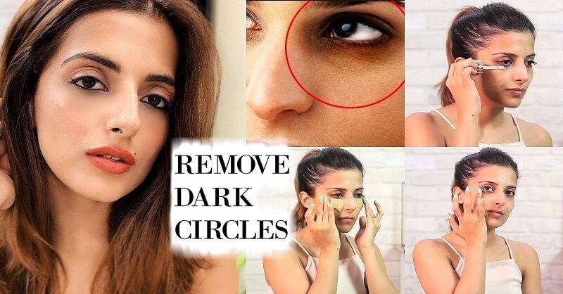 Home remedies on dark circles