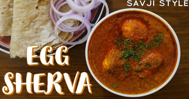 Egg Sherva recipe in Marathi