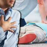 First aid heart attack