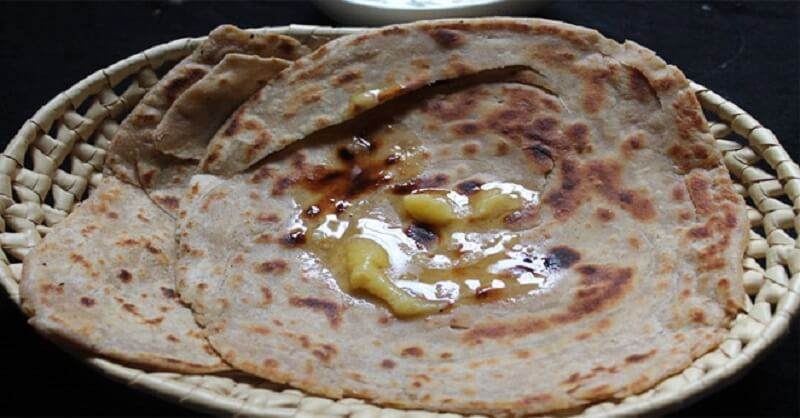 Ghee with Chapati