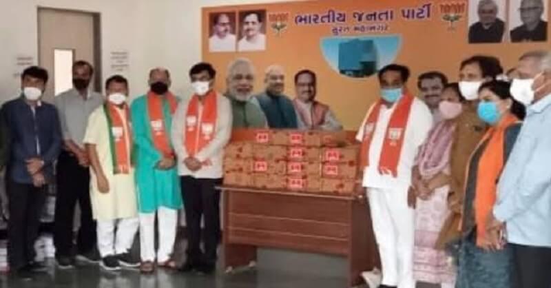 Gujarat, CR Patil, Remedicivir injections