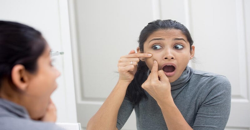 Hormonal acne during pregnancy