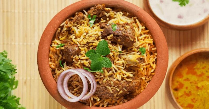 Mutton Dum Biryani recipe in Marathi
