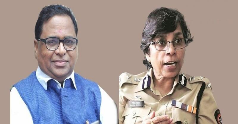 IPS Rashmi Shukla, illegal action, Rathod couple, Haribhau Rathod