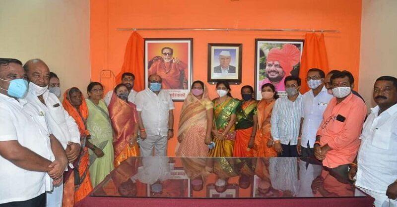 Shivsena leader Lalita Patil