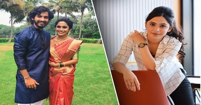 Marathi actress Anushka Sarkate