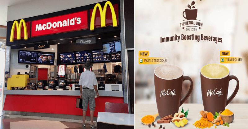 McDonalds immunity booster