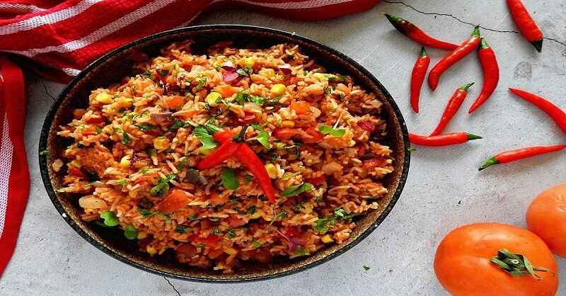 Mexican Rice recipe in Marathi
