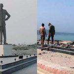 पाकिस्तानचे संस्थापक मोहम्मद अली जिनांचा पुतळा बॉम्बने उडवला | बलुच बंडखोरांचे कृत्य