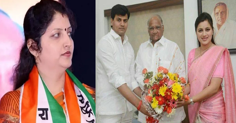 NCP, Rupali Chakankar, MP Navneet Rana