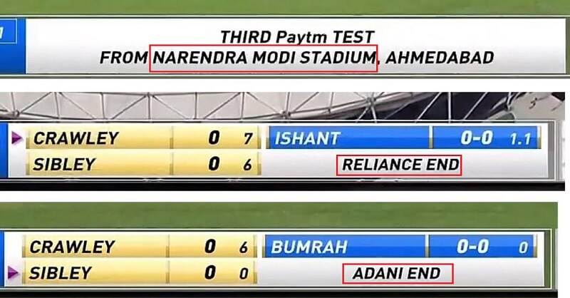 Prashant Bhushan, Renaming, stadium, Narendra Modi stadium