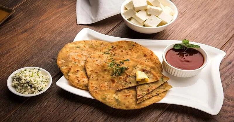 Paneer Paratha recipe in Marathi