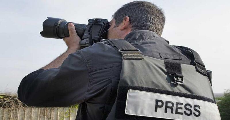 Photo journalist carrier