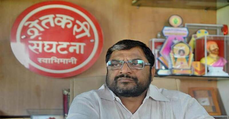 Swabhimani Shetkari, Former MP Raju Shetti