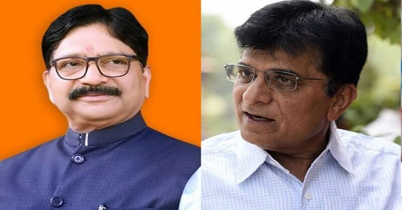 BJP leader Kirit Somaiya, CM Uddhav Thackeray