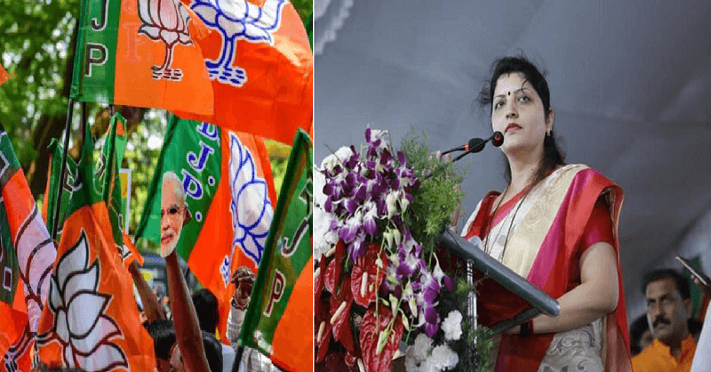 NCP Leader Rupali Chakankar slams BJP party after viral audio clip of MLA Sunil Kamble