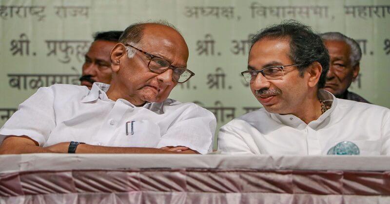 NCP Shivsena Alliance