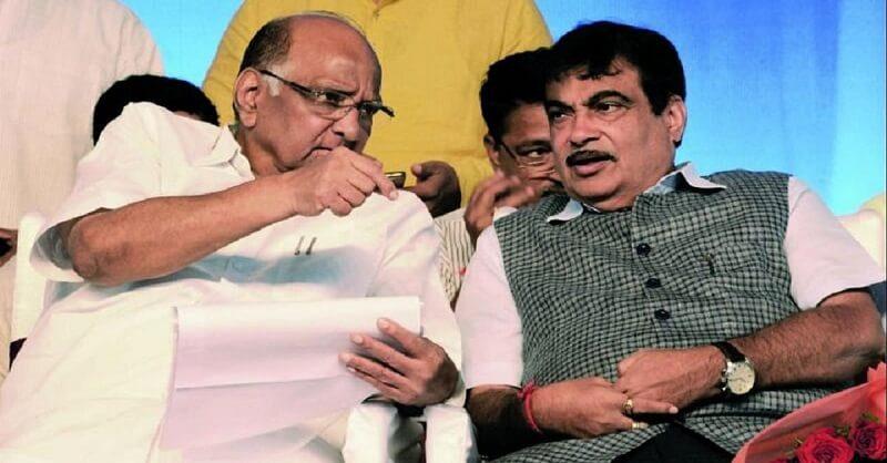 Sharad Pawar and Gadkari
