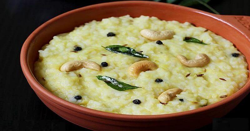 South Indian Khara Pongal recipe