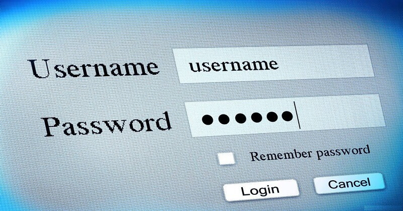 Ten most used and common passwords