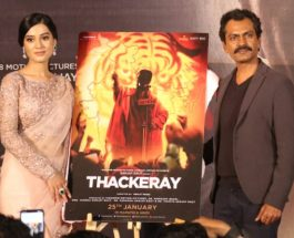 Special shots from Thackeray movie teaser launch event