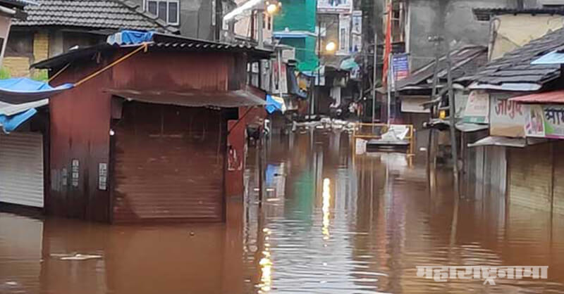 Thane, Thane City, Heavy Rain