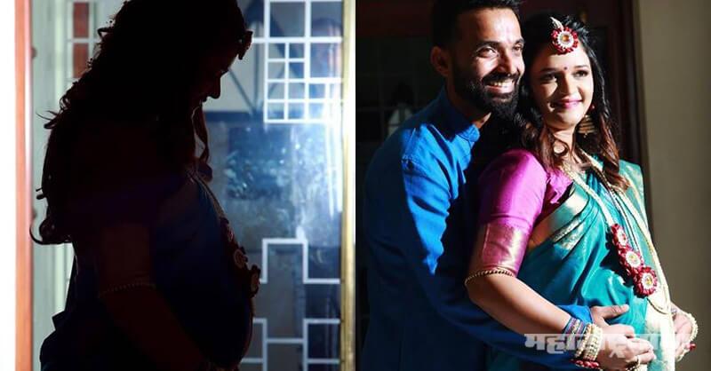 Indian Cricket Team, Ajinkya Rahane, father, Pregnant Wife