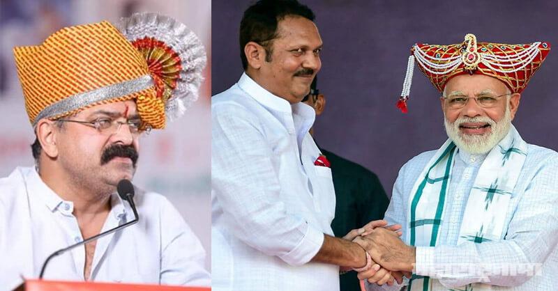 Aaj Ke Shivaji Narendra Modi, Jai Bhagwan Goyal, Minister Jitendra Awhad, Former MP Udayanraje Bhonsale