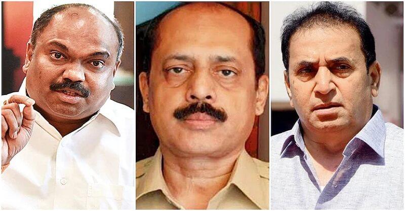 Sachin Waze, Anil Deshmukh, Anil Parab