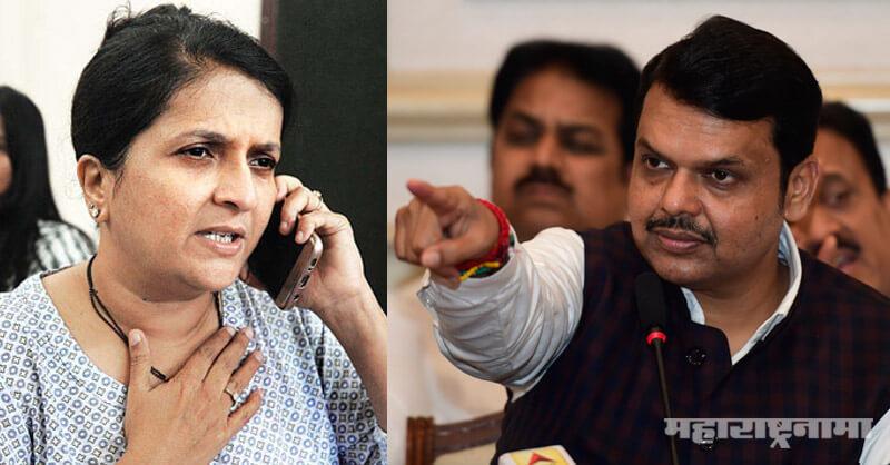 Devendra Fadnavis,  Eknath Khadse, Bhosari Land Case, Anjali Damania