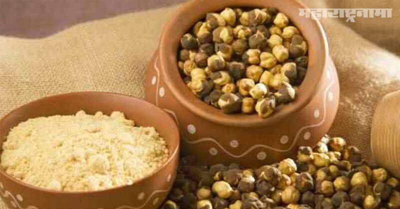 Benefits, Eating roasted gram, health fitness, Marathi News ABP Maza