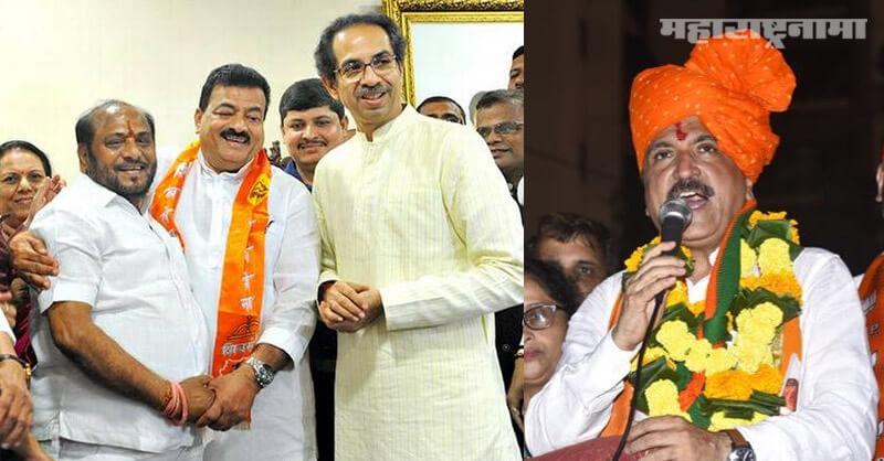BJP MLA Atul Bhatkhalkar, Shivsena, MLA Bhaskar Jadhav