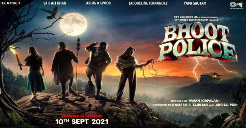 Bhoot police movie, first poster, Release date