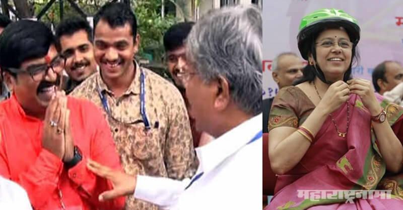 Shivsena, Kishor Shinde, Chandrakant Patil, Maharashtra Vidhansabha Election 2019