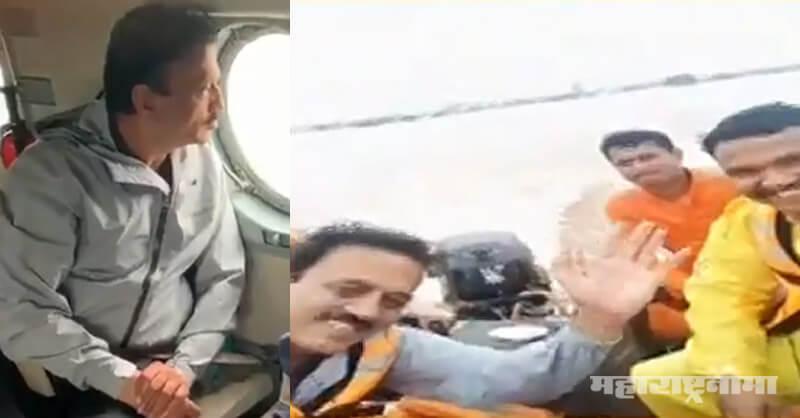 BJP Maharashtra, Minister Girish Mahajan, Kolhapur Flood, Sangali Flood
