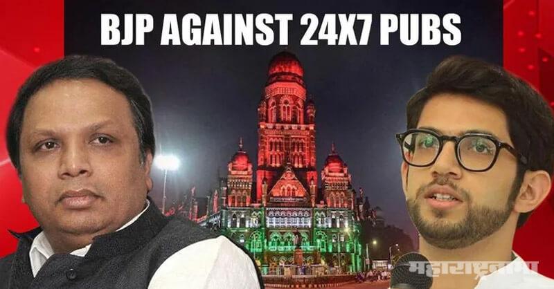 BJP MLA Ashish Shelar, Sushant Singh Rajput, Pub and party Gang