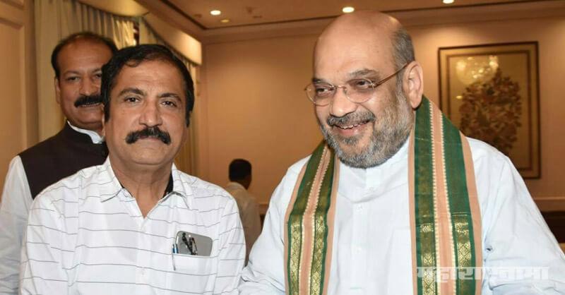 BJP leader Atul Bhatkhalkar, Gopichand Padalkar, Gopichand Padalkar