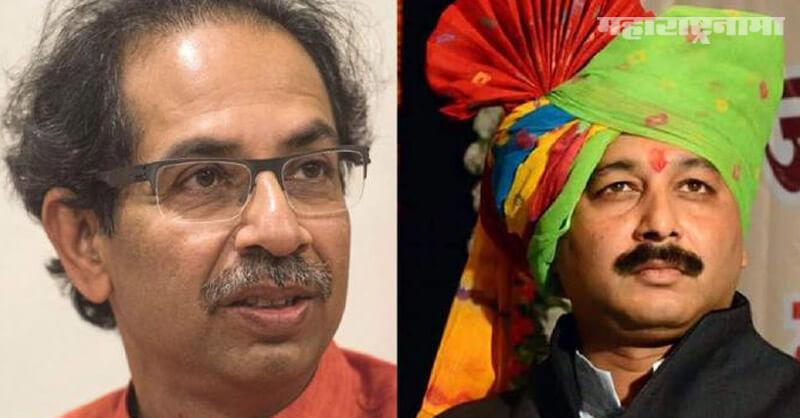 BJP MP Chhatrapati Sambhajiraje, CM Uddhav Thackeray, Notice To Maratha Protesters, Marathi News ABP Maza
