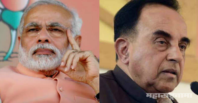 PM Narendra Modi, bjp mp subramanian swamy
