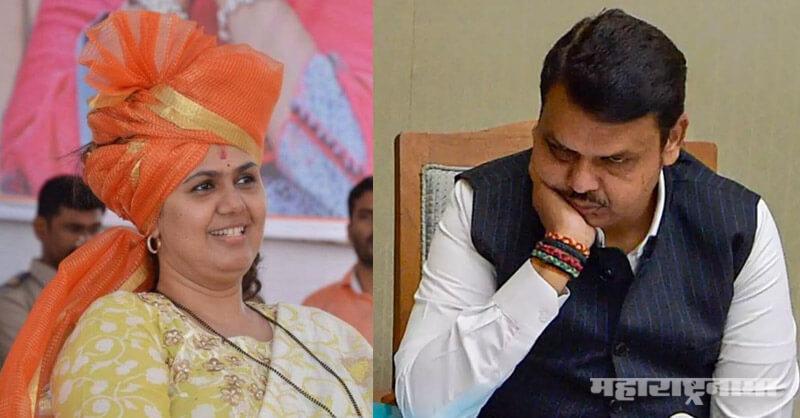 BJP Leader Pankala Munde, BJP MLA Girish Mahajan. BJP MLA Chandrakant Patil